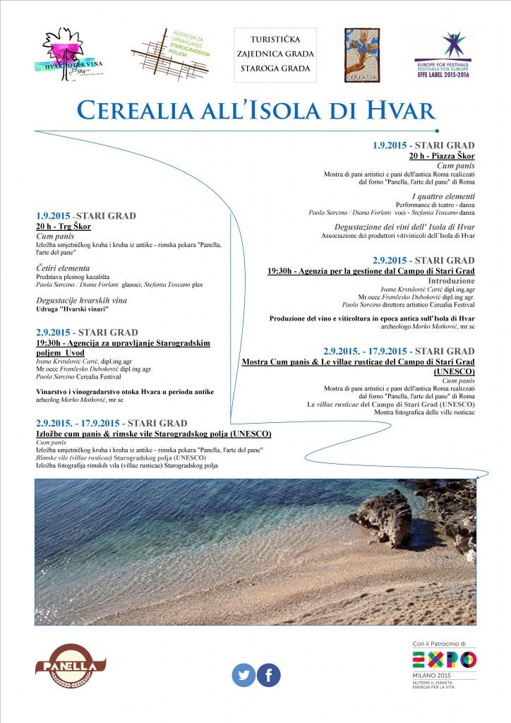 Cerealia a Hvar2015